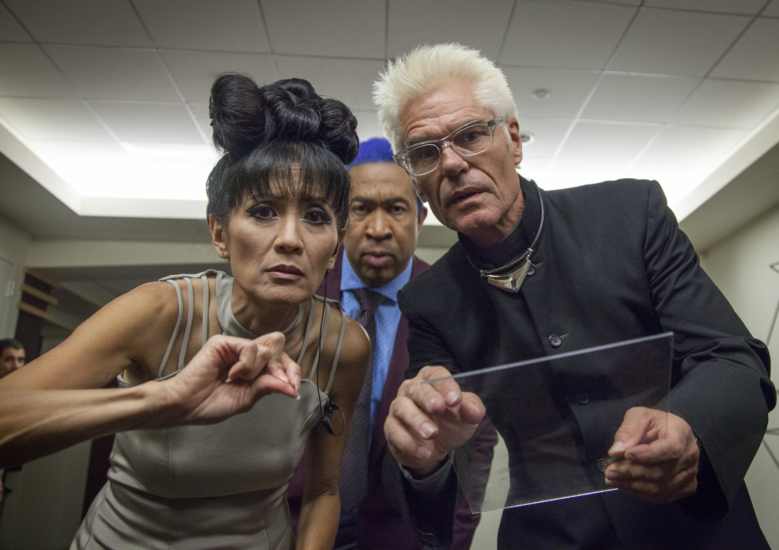 (BTS Series) (Suzanne Whang, John Marshall Jones and Harry Hamlin)(Photo Matt LaCorte).jpg