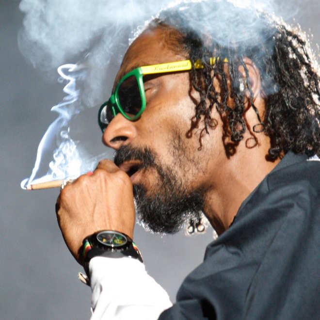 Snoop Dogg.Photo: DAVID MCNEW/Corbis
