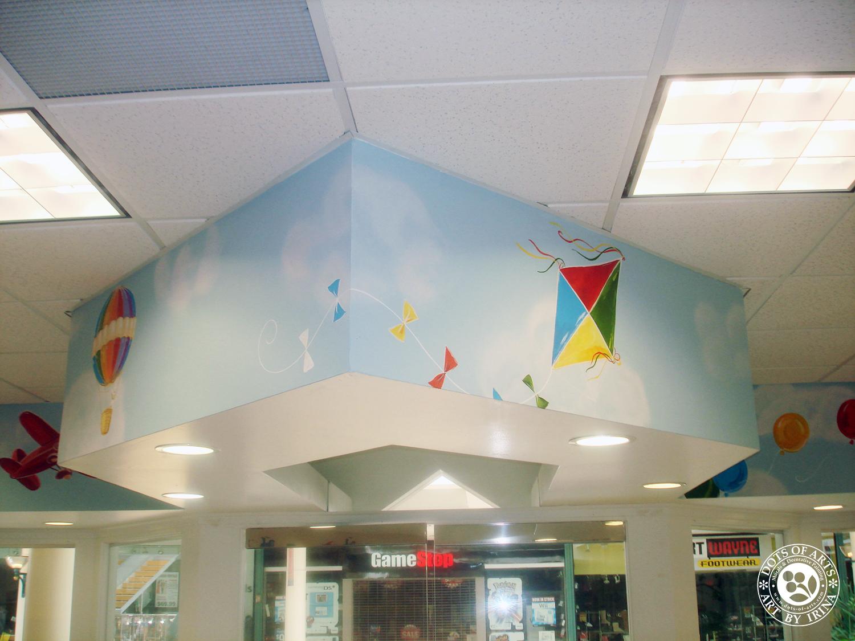 mural-sky-kite-custom-painted-kid-cutz-hair-salon-woodbridge-mall-NJ-dots-of-arts.jpg