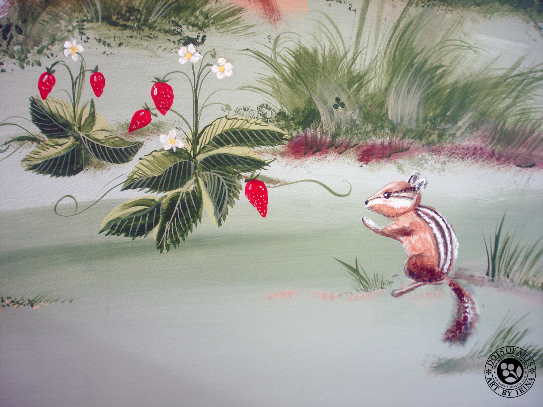 mural-custom-wall-commercial-kidz-kuts-woodbridge-nj-dots-of-arts-chipmunk-strawberies.jpg