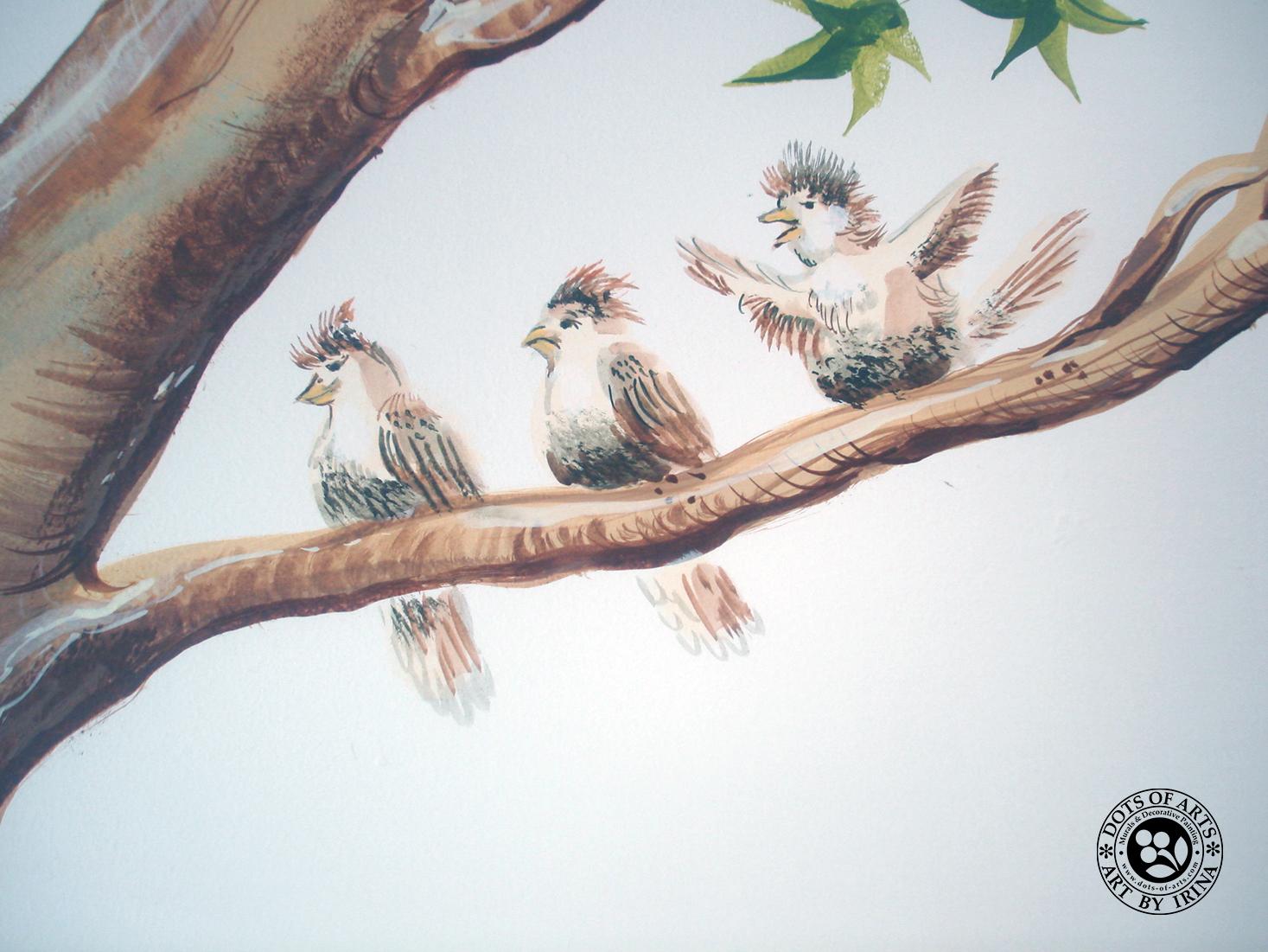 mural-custom-wall-commercial-kidz-kuts-woodbridge-nj-dots-of-arts-tree-sparrow.jpg