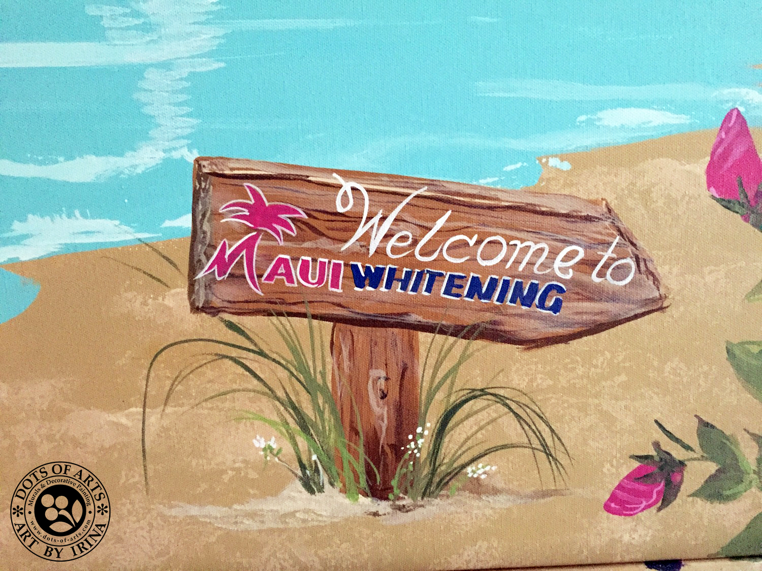 decorative-painting-canvases-custom-dots-of-arts-maui-whitening-sign.jpg