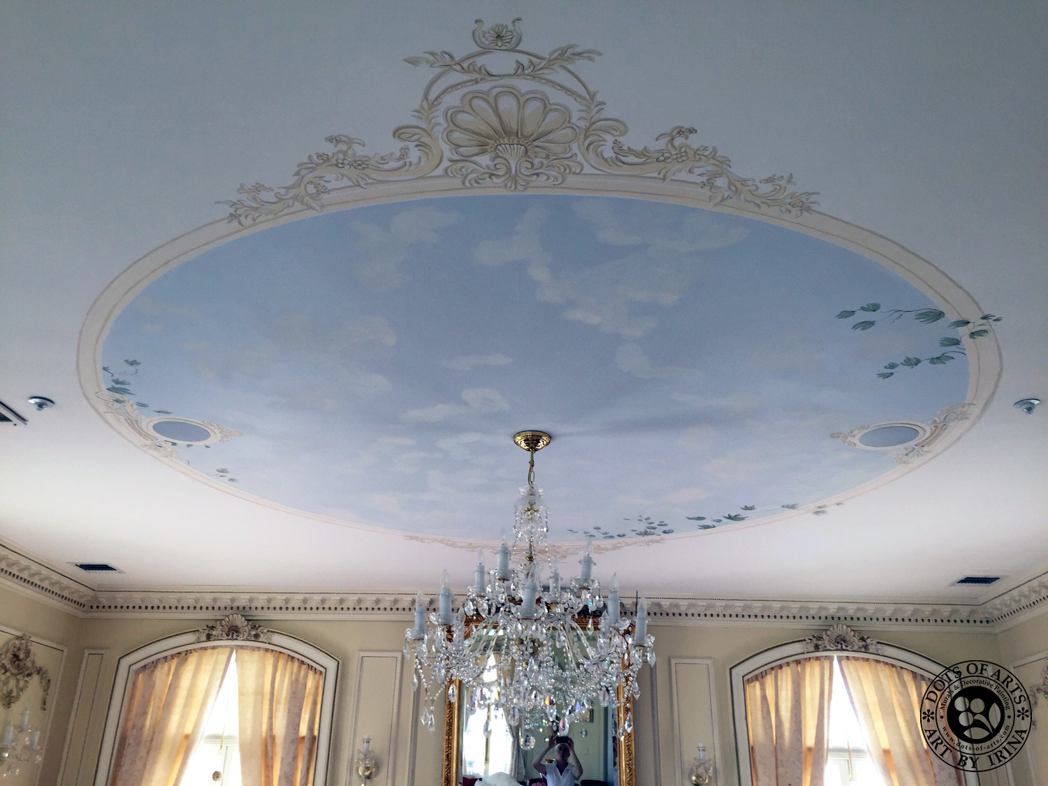 dots_of_arts_murals_decorative_painting_NJ_NY_restorations_Manhattan_hallway_sky_clouds_after.jpg