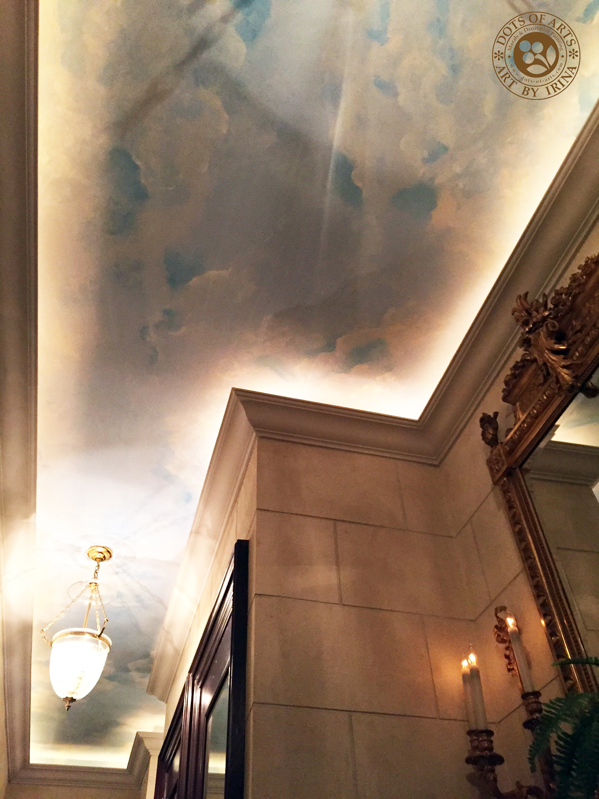 dots_of_arts_murals_decorative_painting_NJ_NY_restorations_Manhattan_hallway_sky_clouds_after_enhancement.jpg