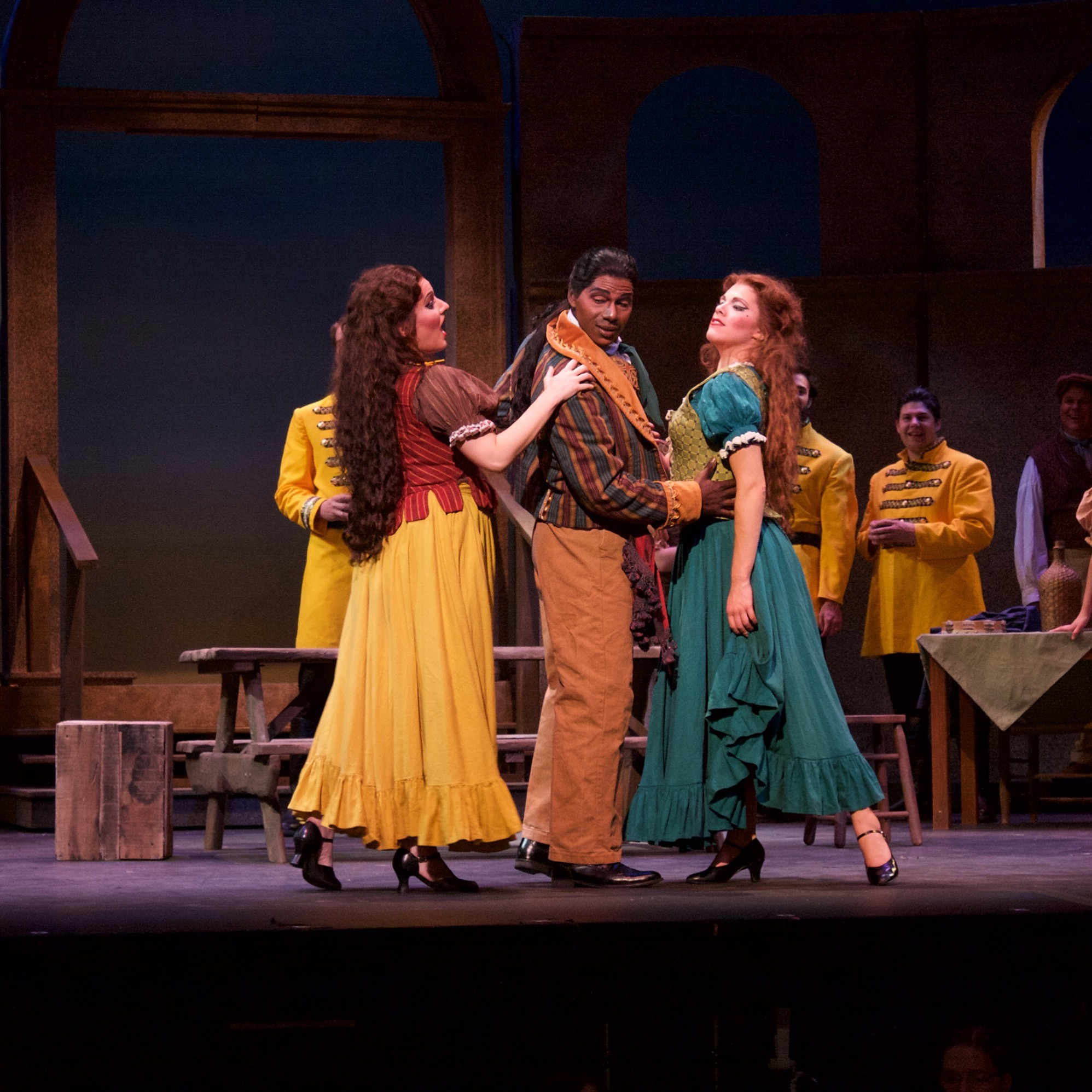 Frasquita,  Carmen,  Opera on the James, 2015