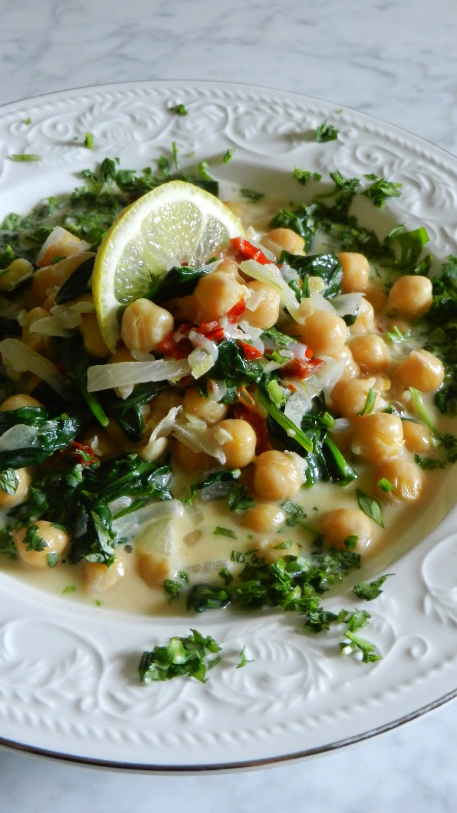 Coconut Chickpea Stew