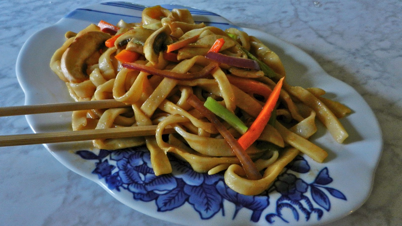 Home-made Udon & Stirfry