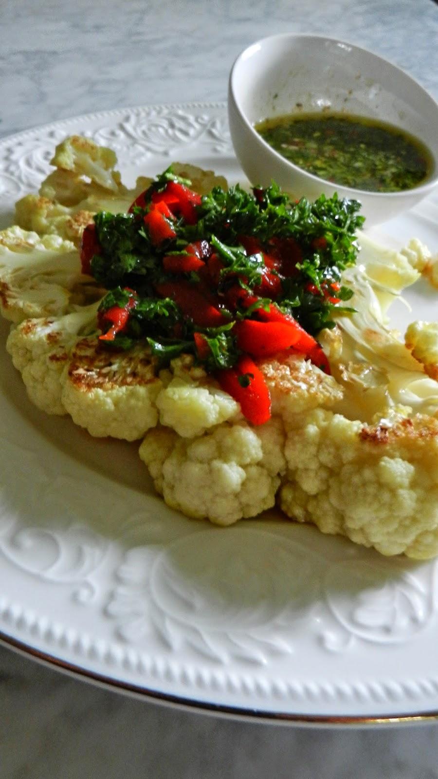 Cauliflower Chimmichurri
