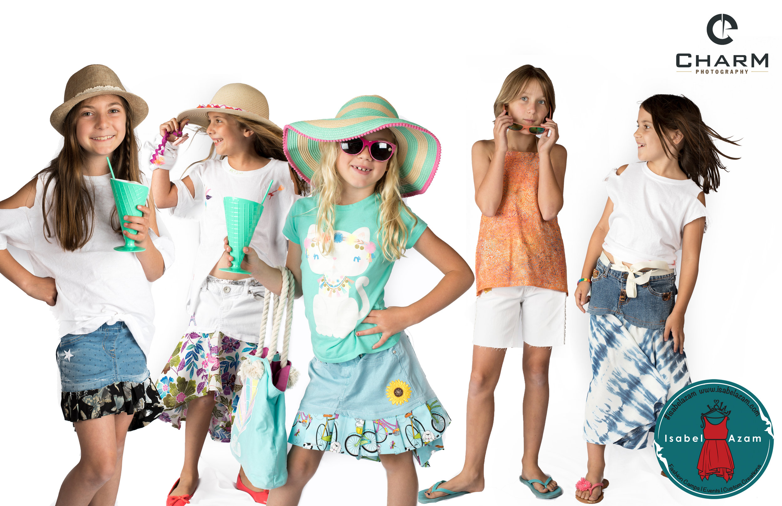 Fashion Camp fun - Photoshoot by Charm Photography