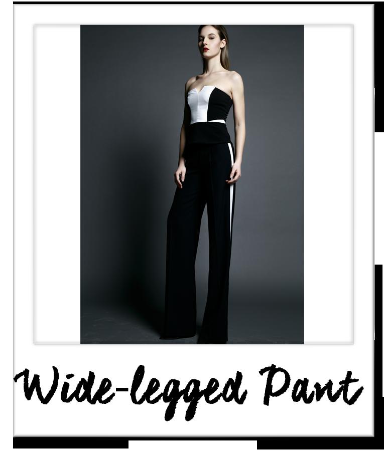 Wide-legged Pant