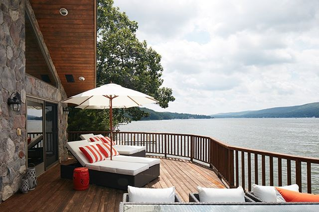 My Greenwood Lake project always reminds me of summer ☀️🛥 Happy MDW! 📸 @markweinbergnyc