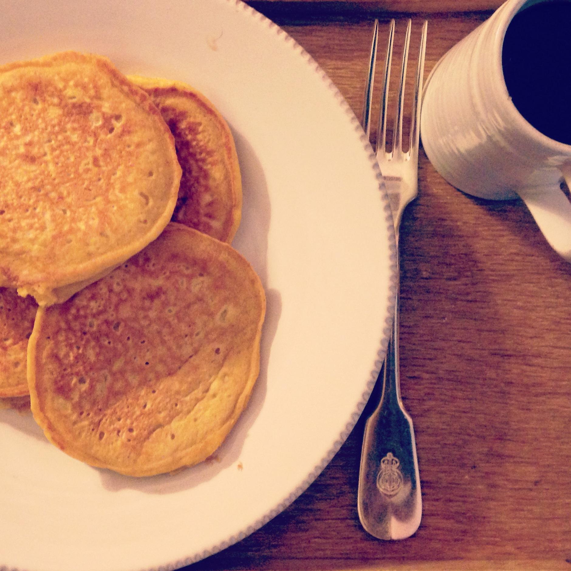 pumpkin pancakes | madeline made