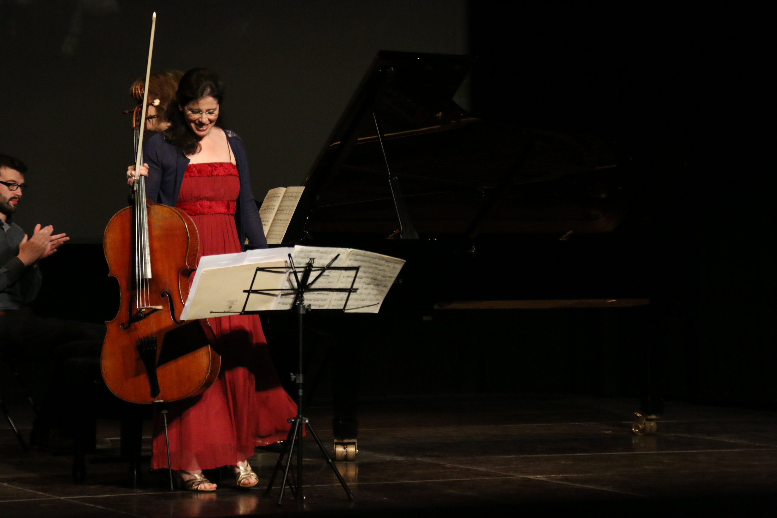From one of three concerts performed on May 20, 2017 in at the Festival de Violoncelle de Beauvais (copyright, Festival de V de B). Videos below!