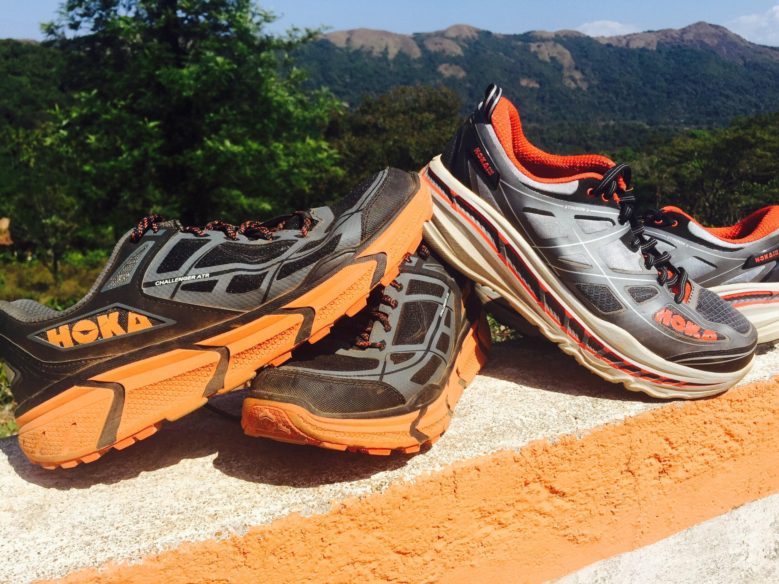 Hoka One One - I went with the Challenger and Stinson ATR