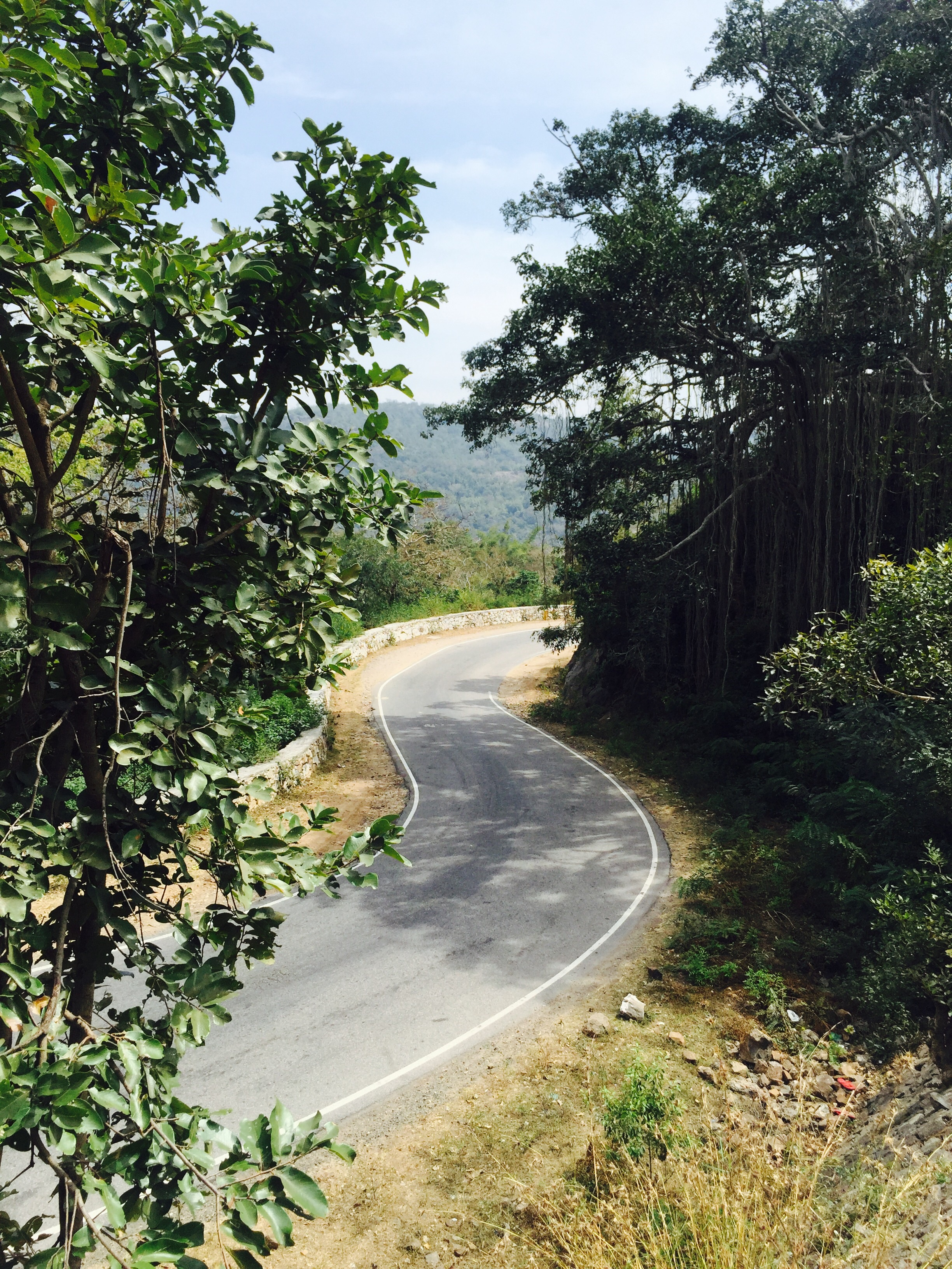 One of the 27 hairpin turns