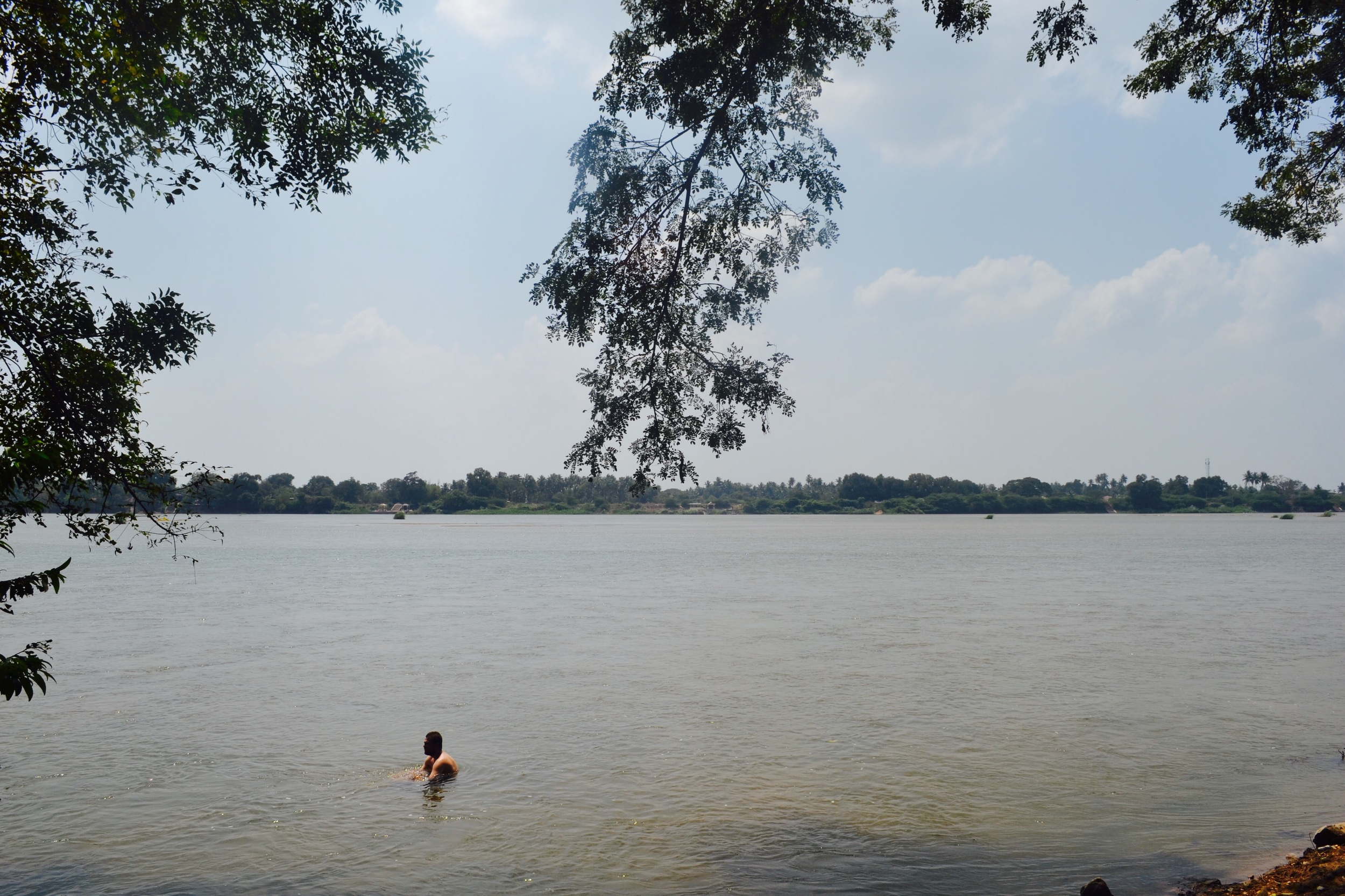 Swimming in the Kaveri