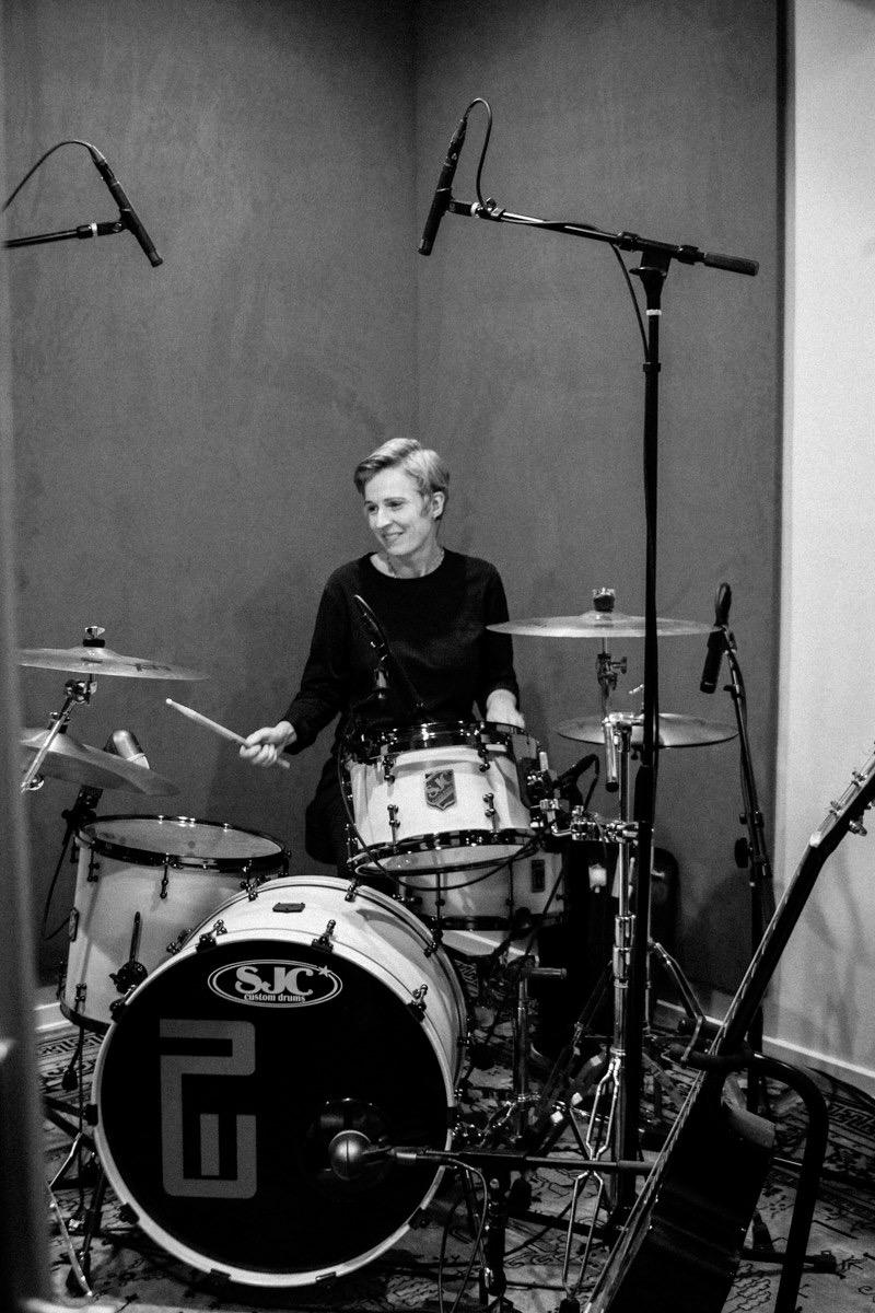 Jen Schwartz on Drums*