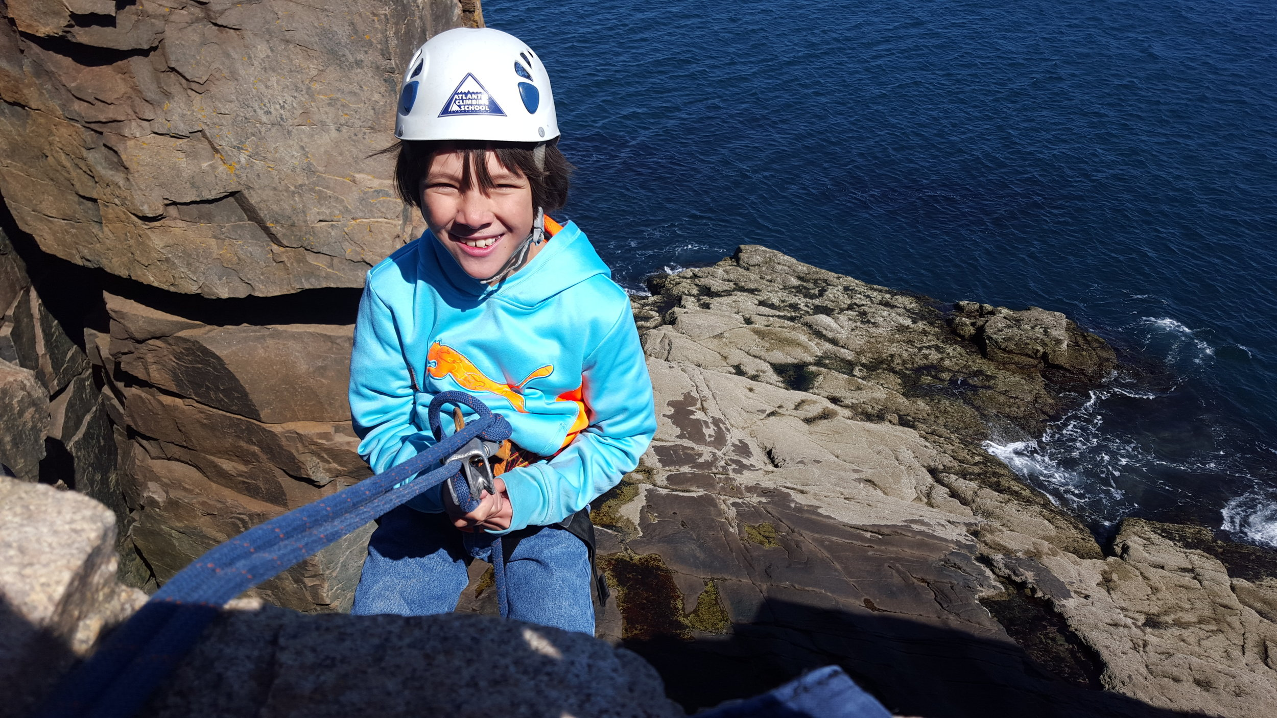 Rock climbing, whitewater rafting, treetop adventures courses -- take kids out of their comfort zone, and you might be surprised at the results!