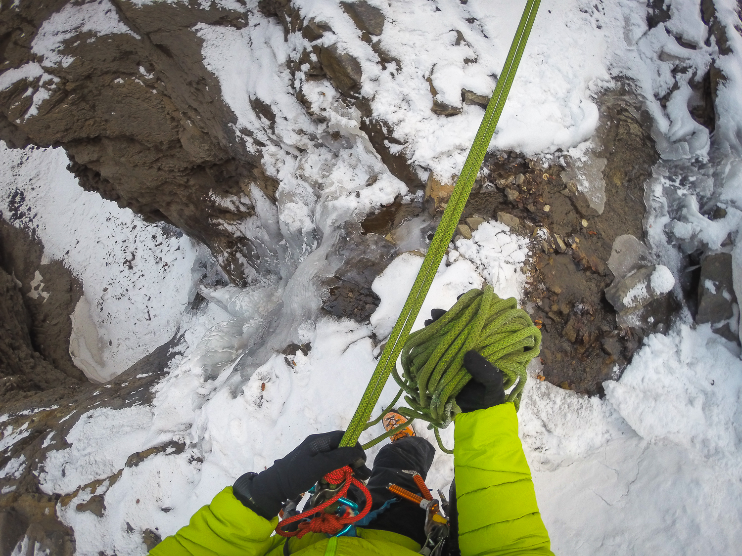 The GoPro has a great way of capturing the moments between while climbing