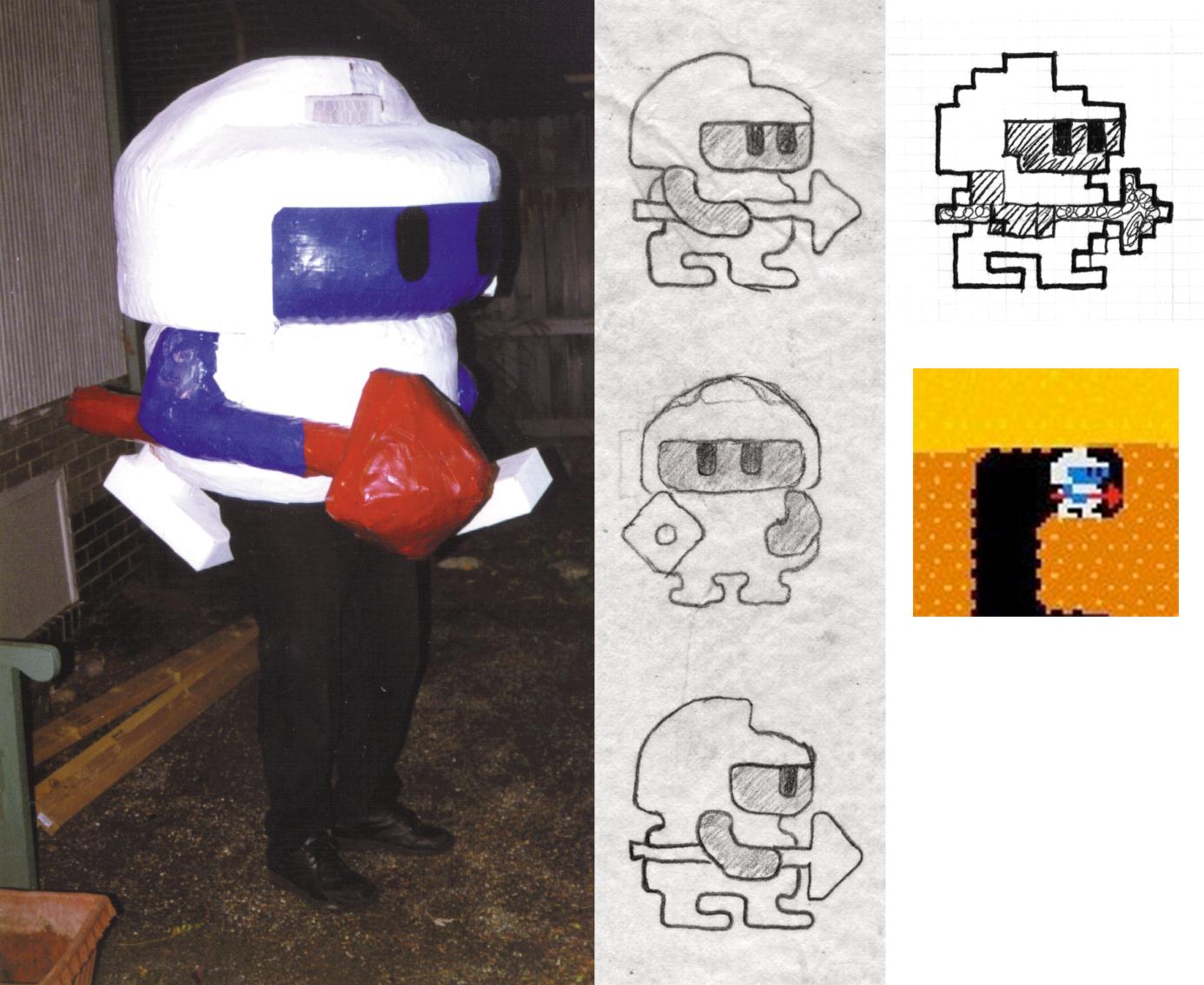 DigDug Costume