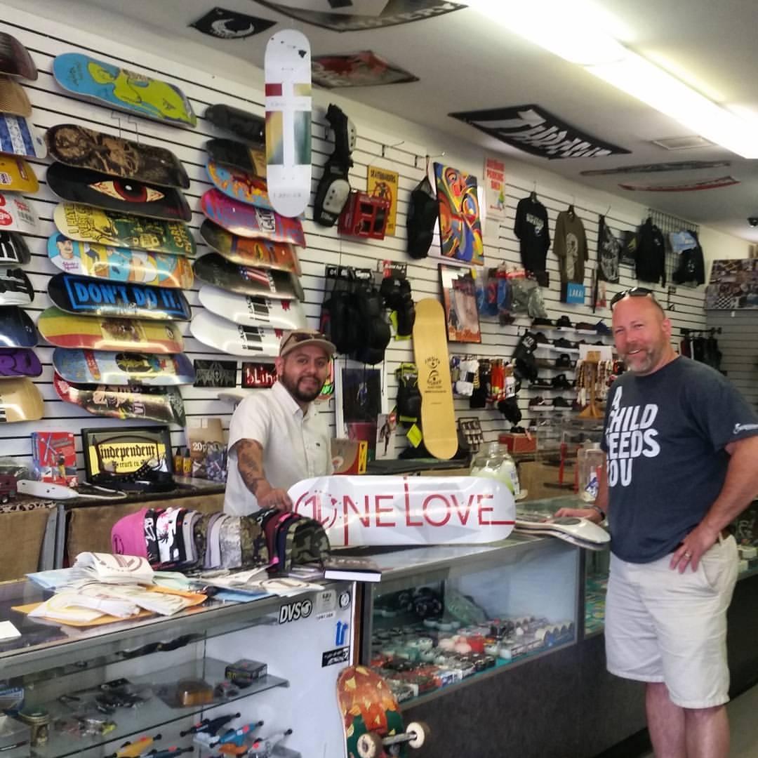 Blazer Surf & Skate  in Greenville, South Carolina has decks, stickers, & hats.