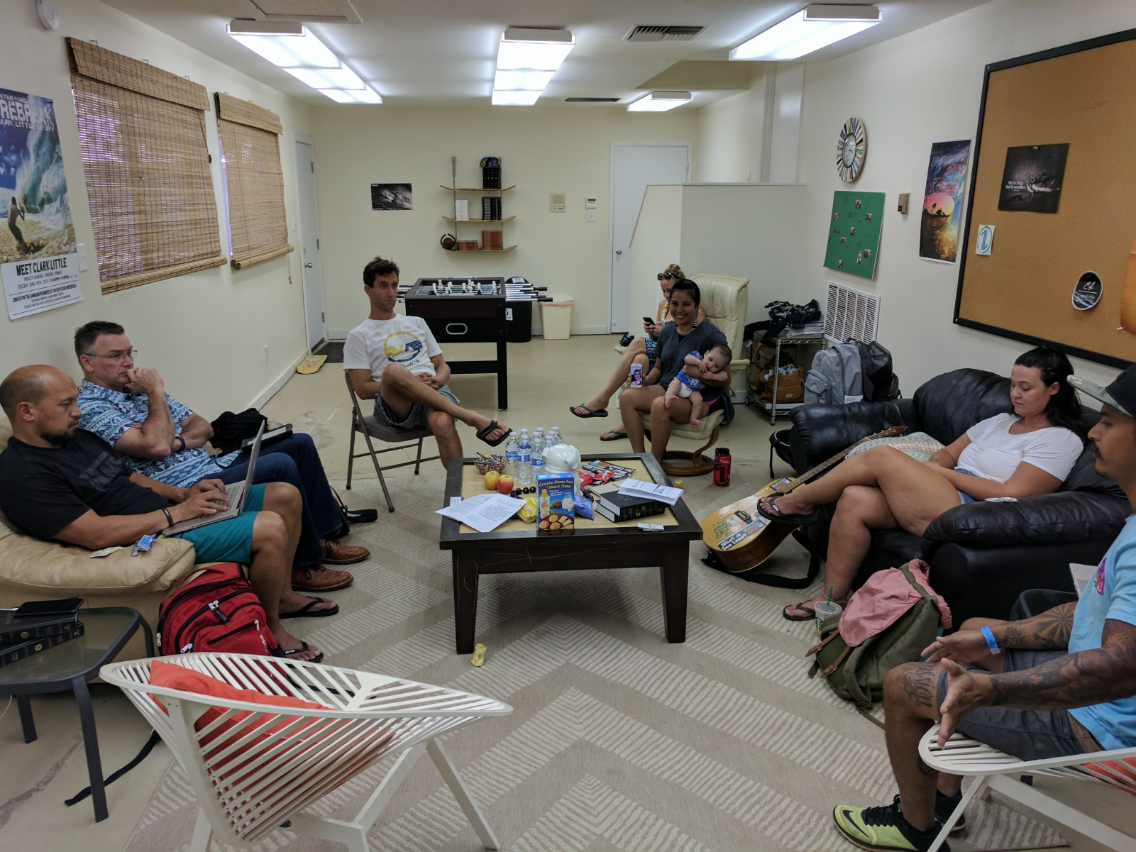The air-conditioned, One Love Room at Lahaina Baptist was the perfect place for our Board of Director's Meeting last Saturday!  We are so thankful for these servants on the 1L Board of Directors from Maui, Oahu, and North Carolina. These amazing people help share the load of logistics, funding, and prayer to help make the ministry of One Love transformational in Hawaii and many more places all around the world!