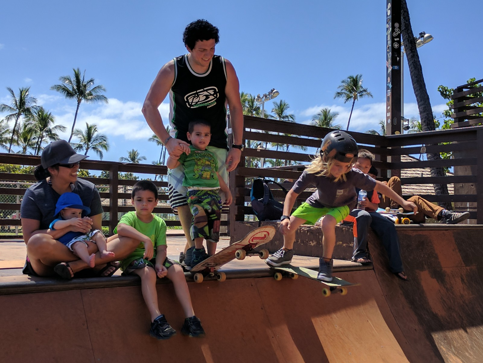 Thankful to see the Cardoso family before their big move from Maui! Dan & Gretchen, thanks for your service on the Board of Directors. So stoked you're bringing your kids up in righteousness:) Stoked on this drop-in, Kaleo!