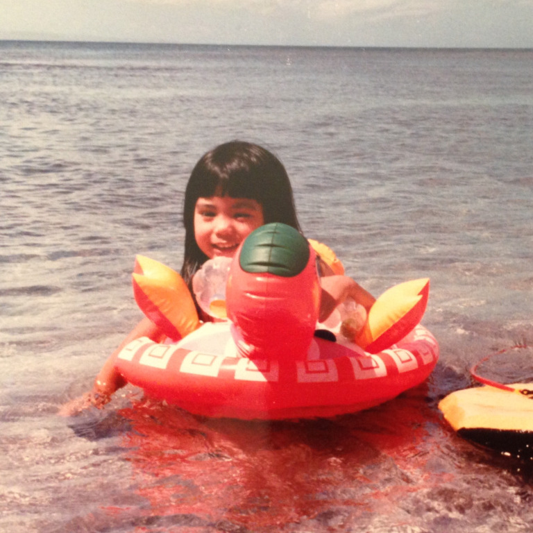 Sundays were family beach days growing up. I've got a ton of fond memories splashing, swimming, and soaking up the sun!