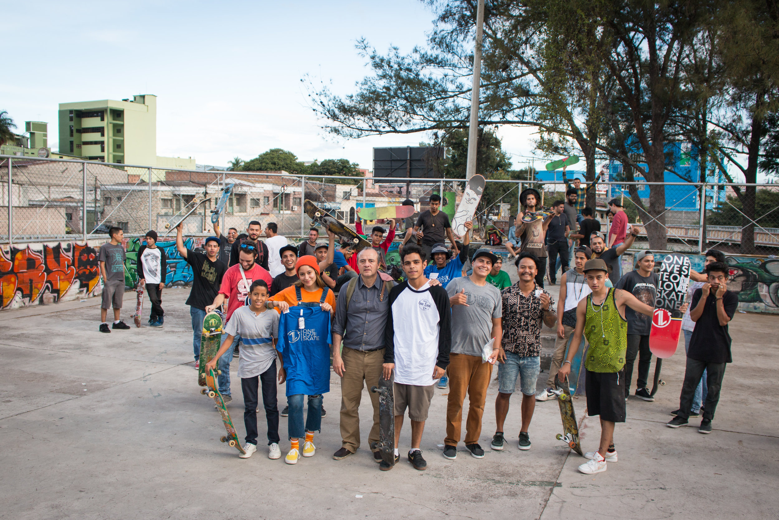 Recent Honduras 1L Mission - Resourcing & Equipping 1L Reps to give away boards and start life groups. #OneLoveSkate