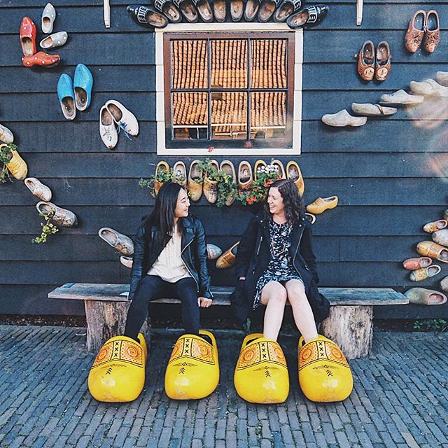 Clogs and best friends. 📍Amsterdam 👱‍♀️@handosydney 2.0.1.6 . . . #letsgosomewhere #welltravelled #liveforthemoment #simpleliving #landscapephotography #stayandwander #createandcapture #visualoflife #awesomeearth #artofvisuals #lifefolktakeover #passionpassport #lifeofadventure #featuremeseas #finditlivit #mytinyatlas #travelandlife #flashesofdelight #exploreeverything #dailytelegraph