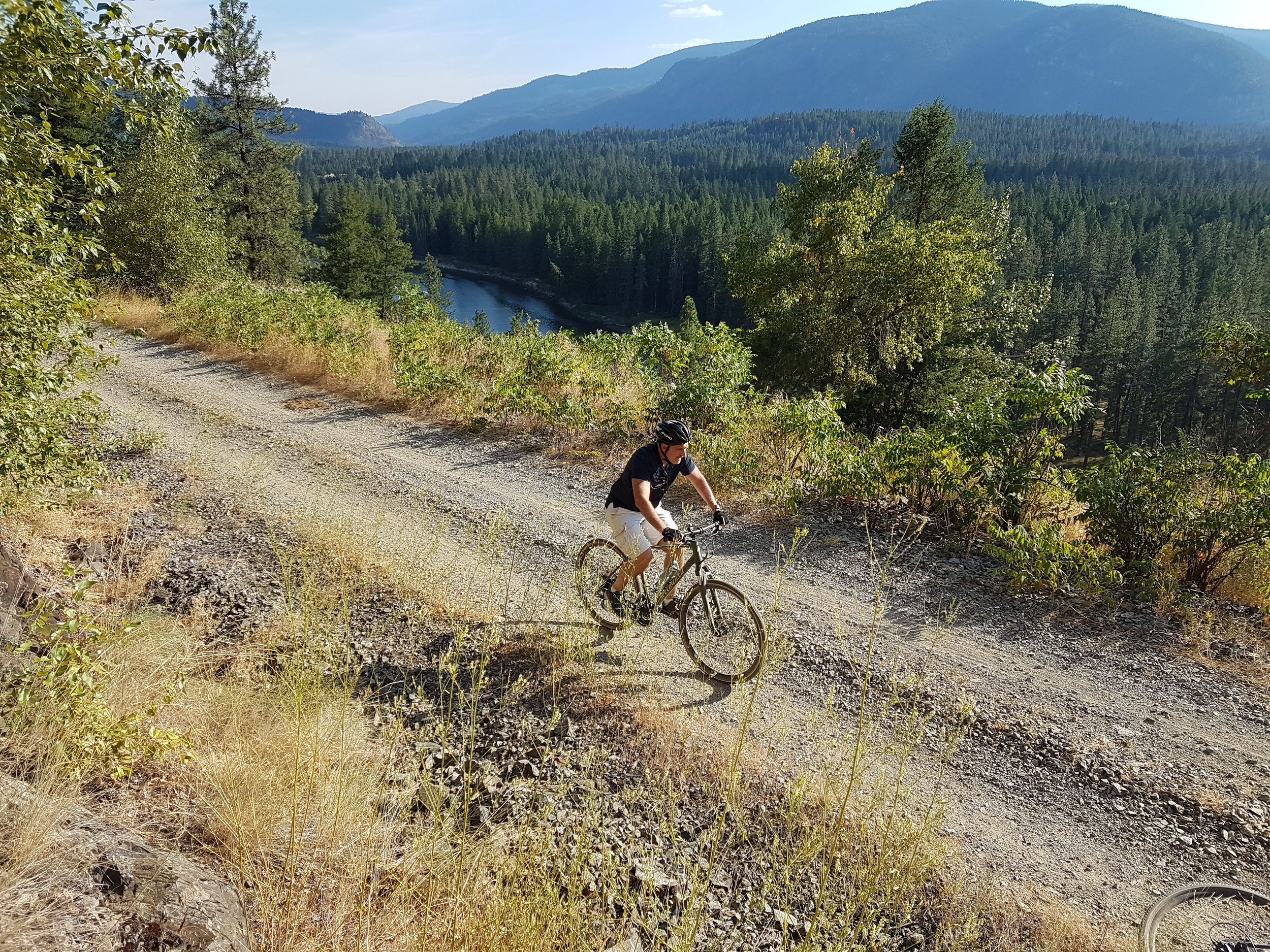 Cycling Holiday at Myra Canyon