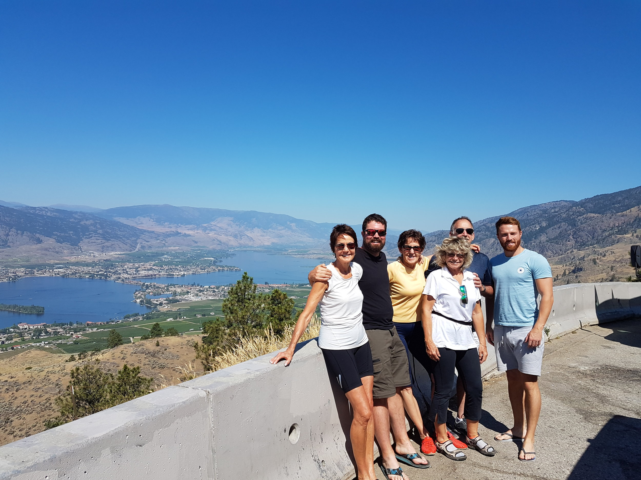 Group Photo during one of our Multiday Bike Tours