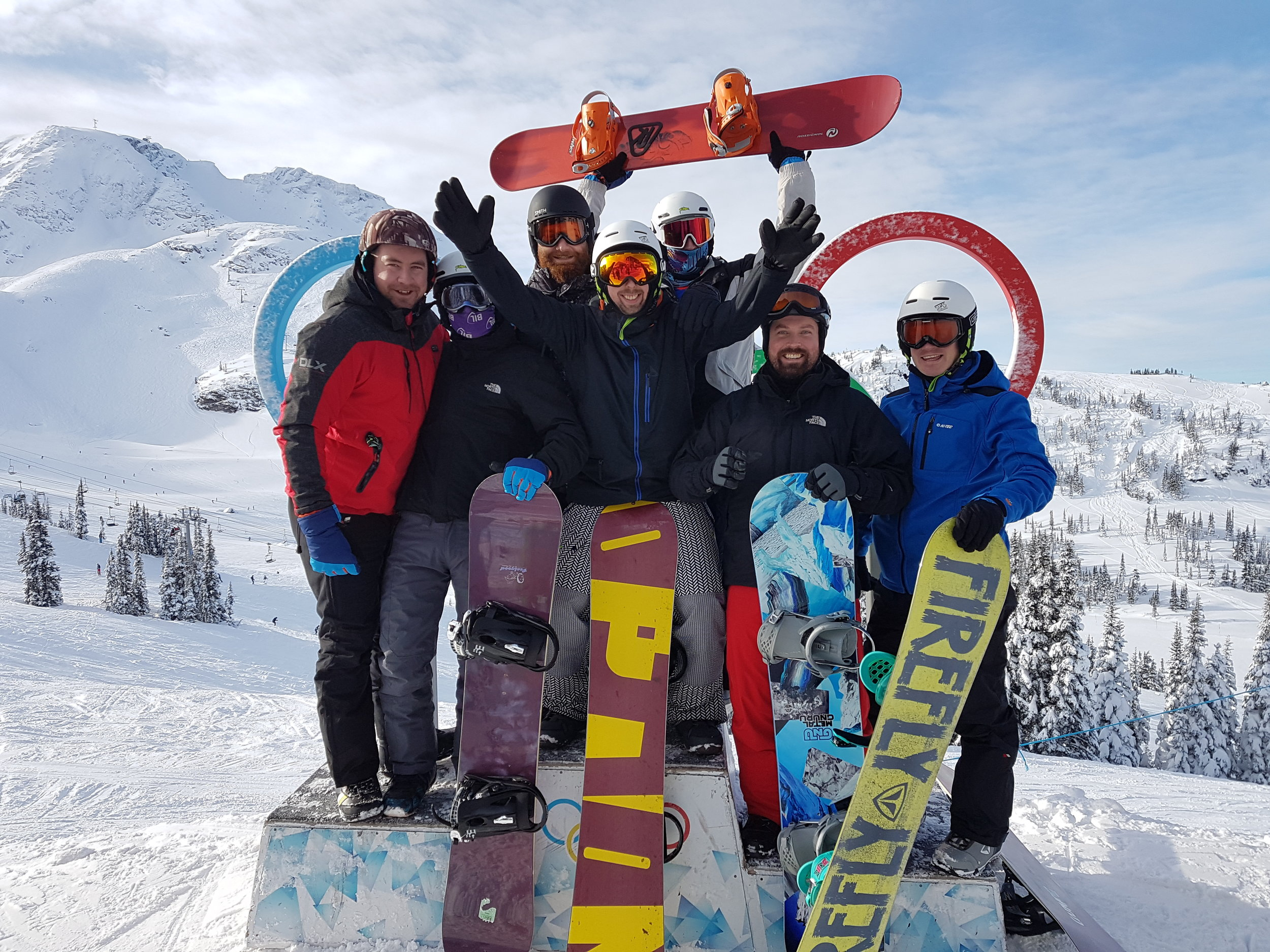 Private ski & snowboard tours in Whistler, British Columbia.