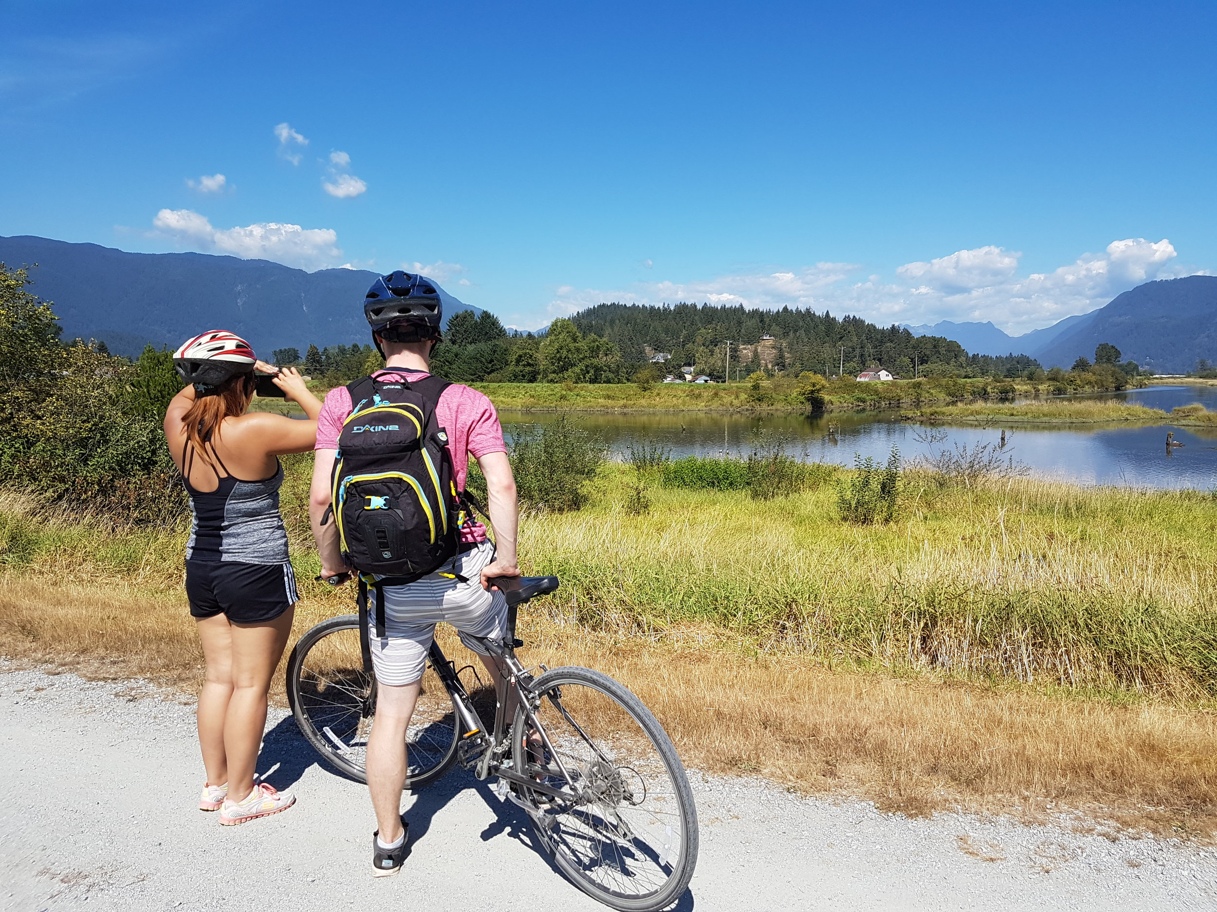Taking it all in at Pitt Meadows, B.C.