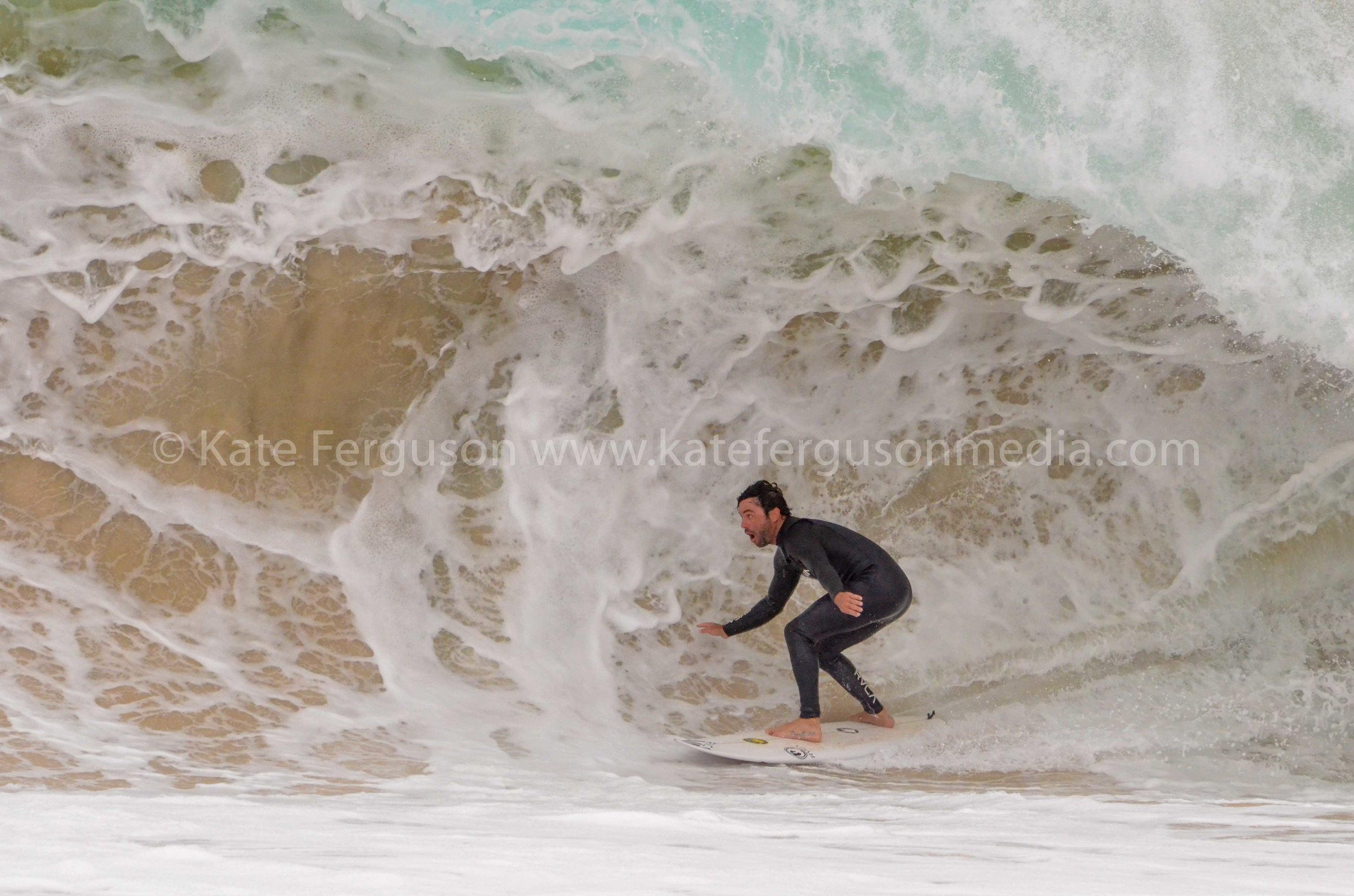 Frothing over Cyclone Marcus' swell in the South West.