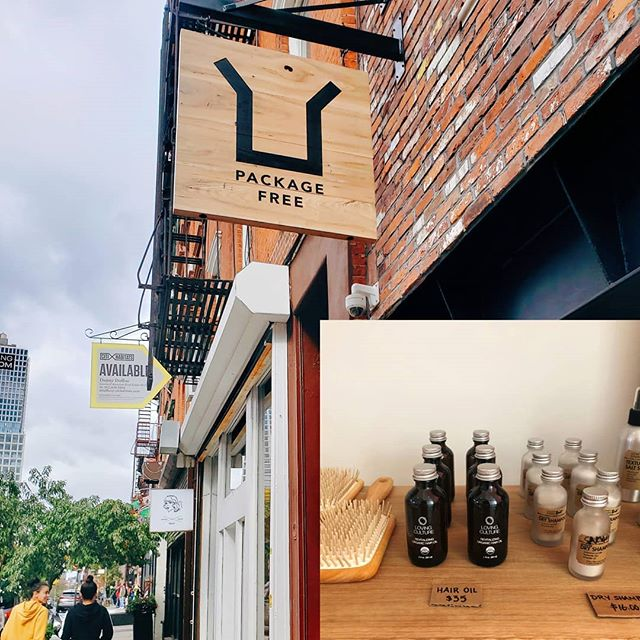 I'm so excited that my brand @lovingculture's revitalizing organic hair oil is now available at the @packagefreeshop. We are super excited to continue to promote our mission to be sustainable and toxic free.  If you are in the Williamsburg Brooklyn area do check them out and replenish your supply of oil as well. We will be available on their site soon too! 💚🌿🌱🌏 . . #cleanbeauty #huilepourcheveux #sustainability #zerowaste #loveis #lovingculture #nyc #brooklyn #packagefree