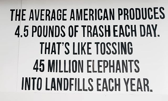 The stats regarding the amount of trash we Americans produce daily is astronomical. We can do better and it definitely starts with us manufacturers. Places like  @packagefreeshop in Williamsburg Brooklyn are truly helping consumers find better ways to be sustainable.  #zerowastepledge #zerowaste #nyc #brooklyn #plasticfree