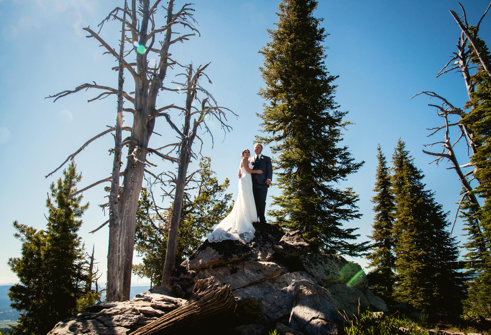 Zilla Photography Wild Adventure Mountain Wedding Landscape