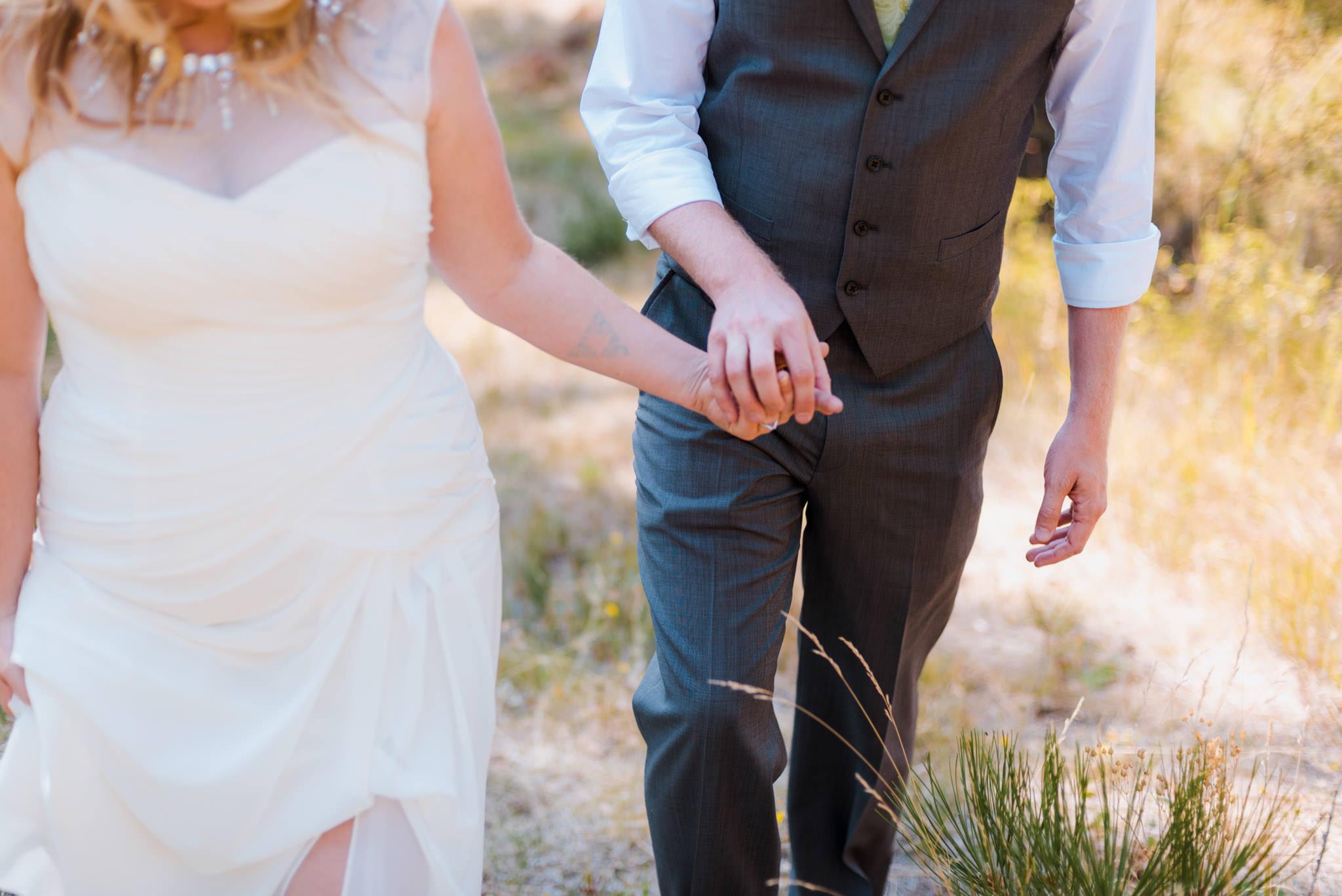 Zilla Photography Wild Adventure Mountain Wedding Hands