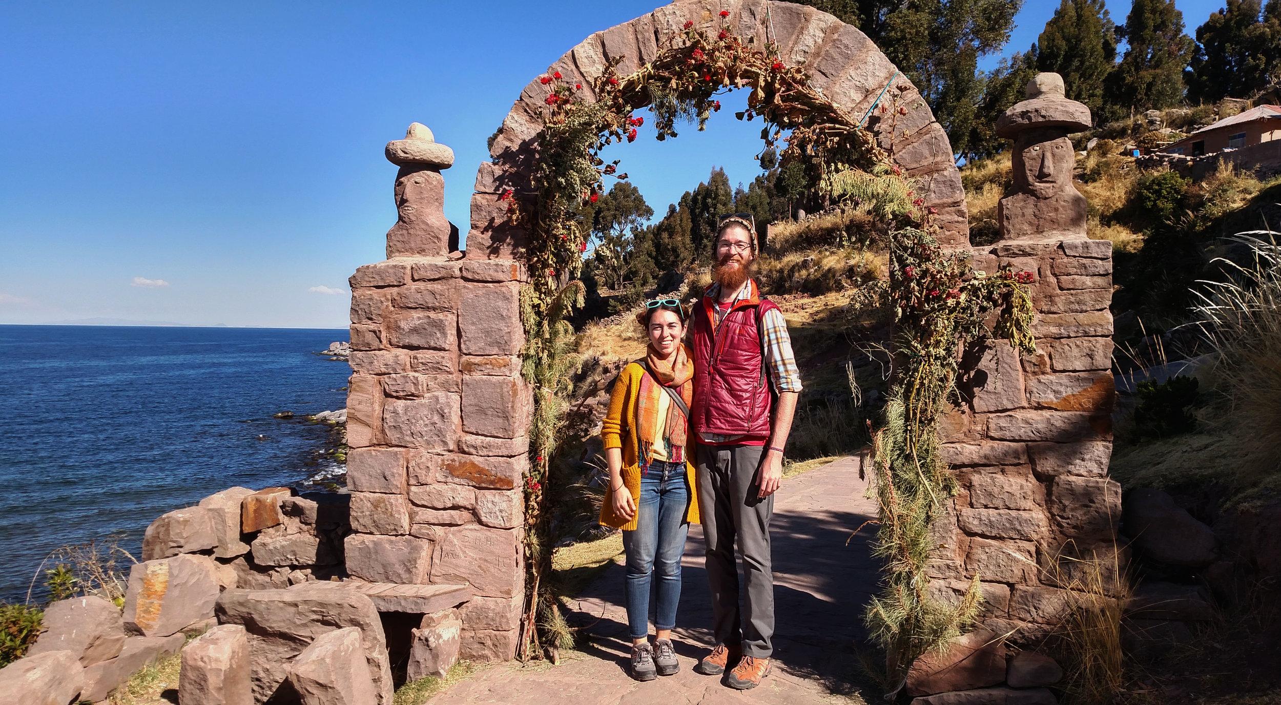 Matt + Amy Taquile Island Peru.jpg