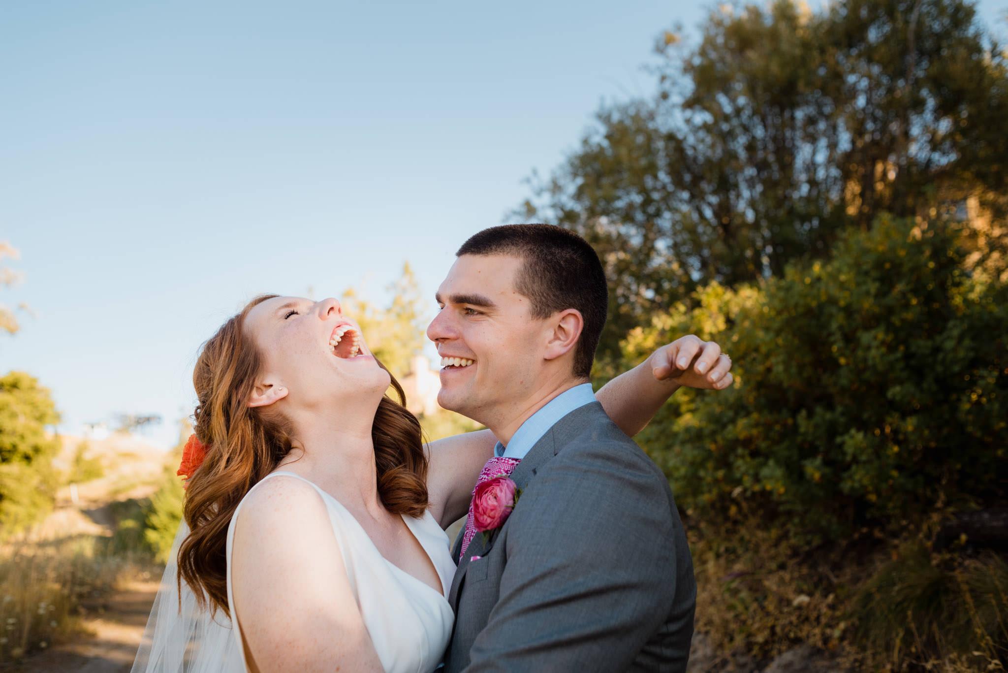 Zilla Photography - Bogus Basin Idaho Laughing Couple Portraits Outdoor Summer DIY Wedding-13.jpg