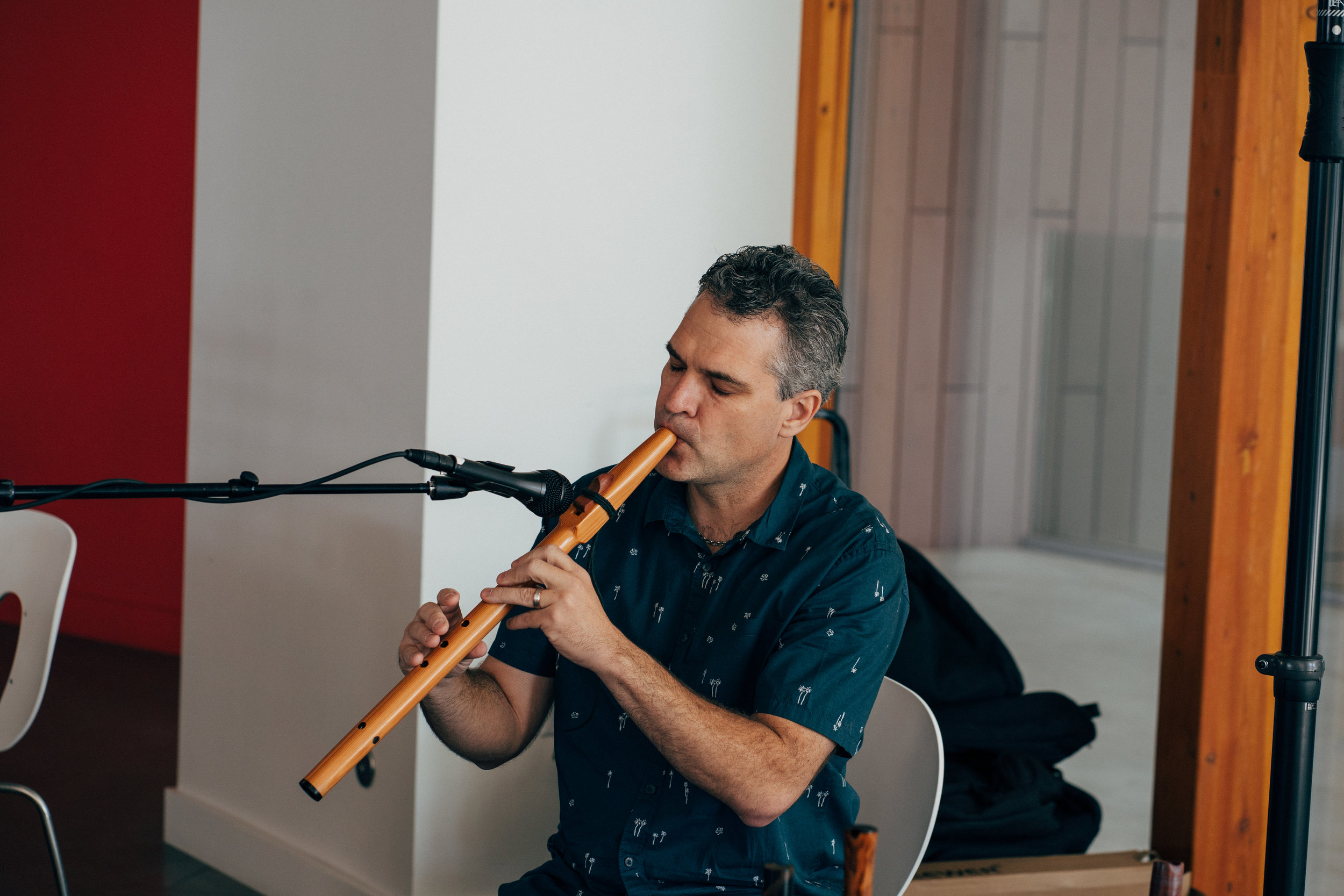 Joe Young - Joe is an accomplished musician. He often joins us to play world flute and saxophone between educational sessions and during the social events at our conferences.