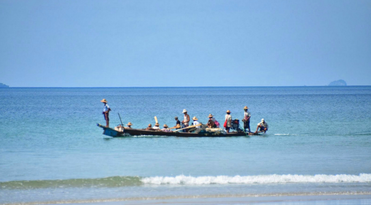 Fair trade fishing in Ngwe Saung