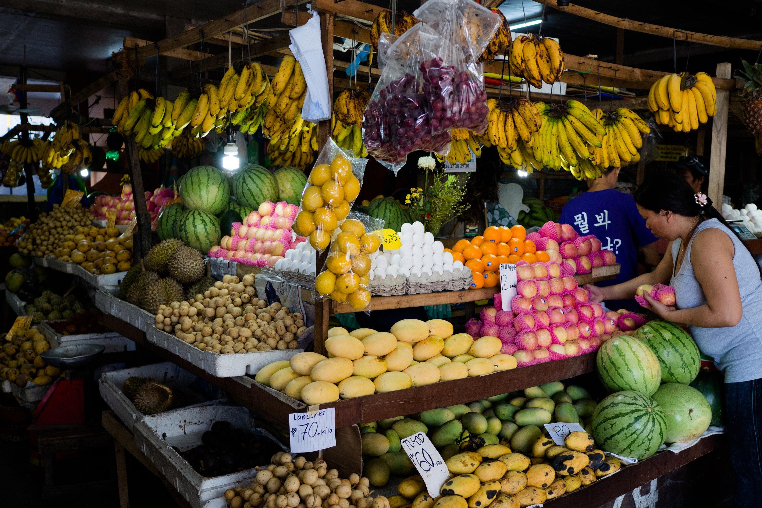 Dumaguete market