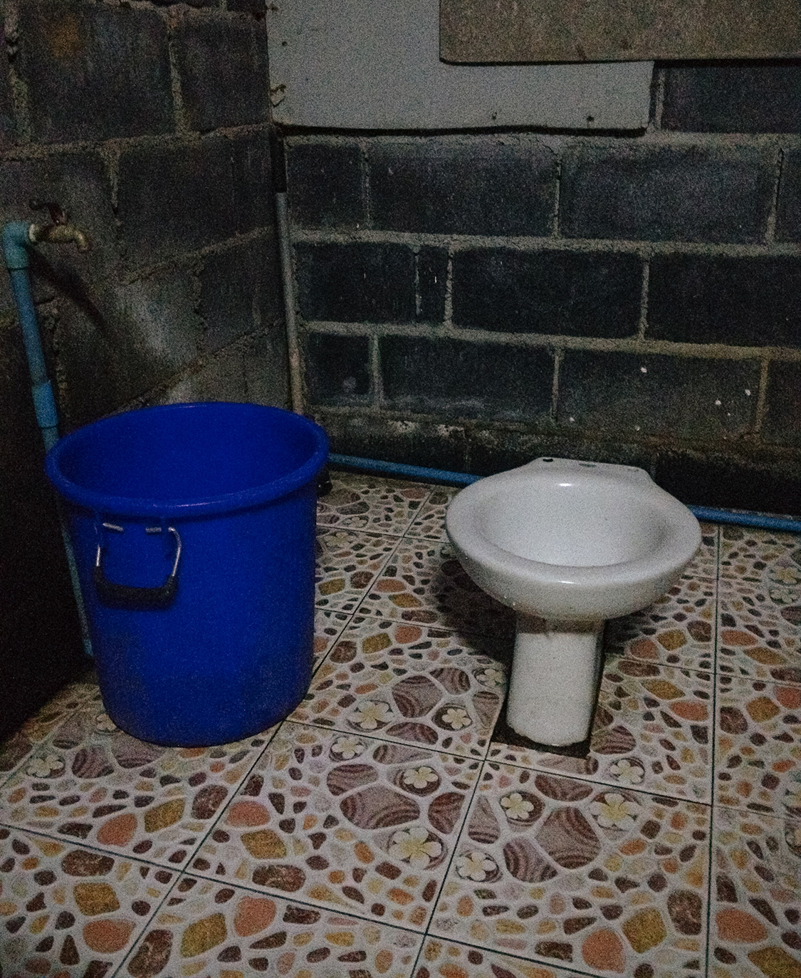 """This is not the toilet I used, but it could have been. You never know, which is why you need to be prepared. But it is a toilet I witnessed at a cafe in Thailand. I decided to """"hold it"""" it that time."""