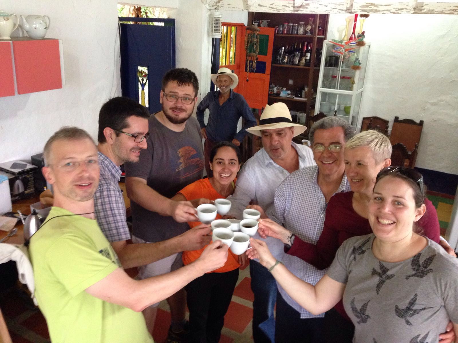 Salud! The On Board gang traveling Central America.