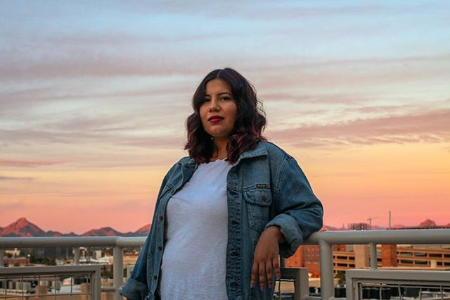 A beautiful sunset to match this woman's inner and outer beauty! Happy birthday! ☺️ #yazlizphotos #arizona #azsunset #portrait #potd