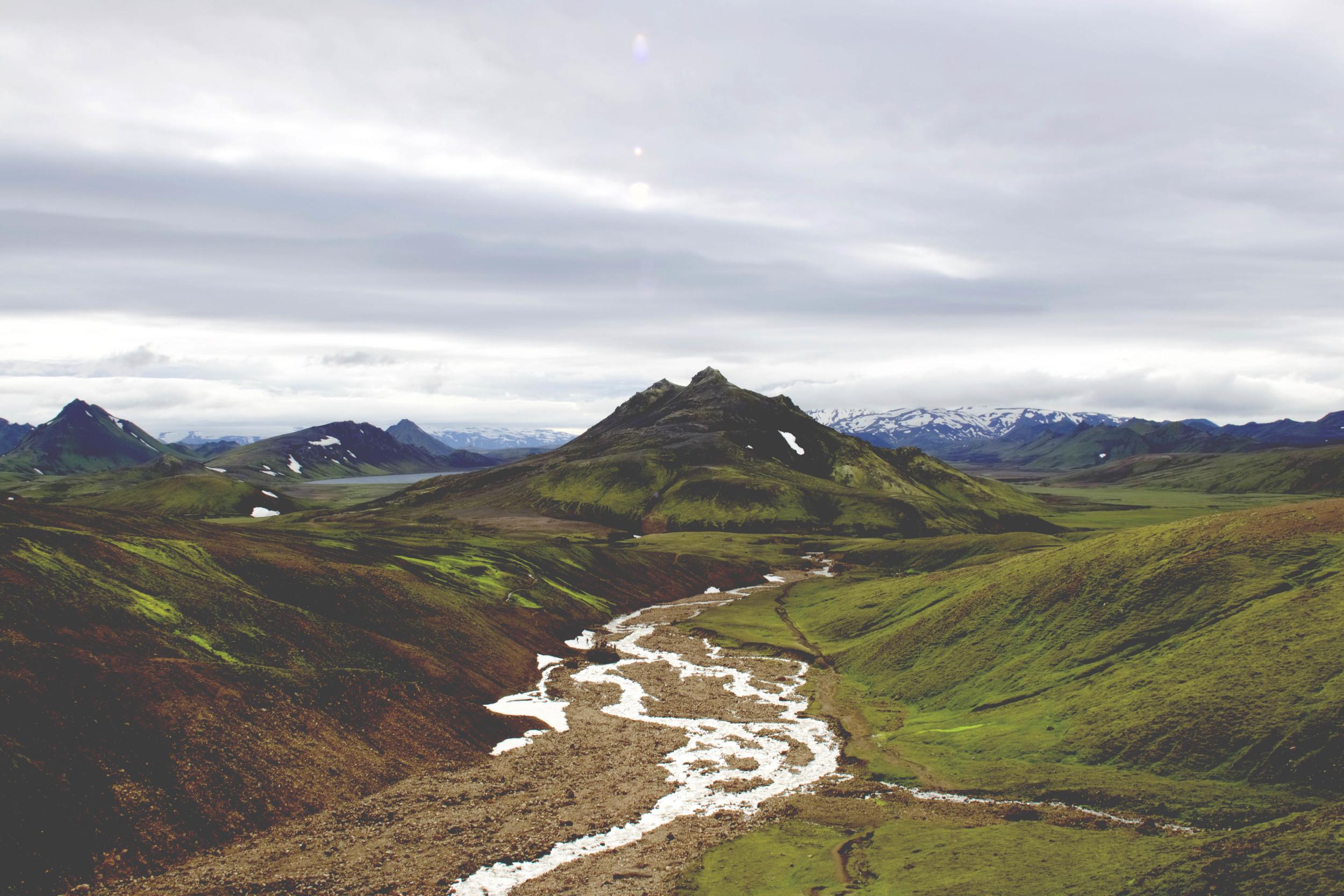 Trail from Hrafntinnusker - Álftavatn