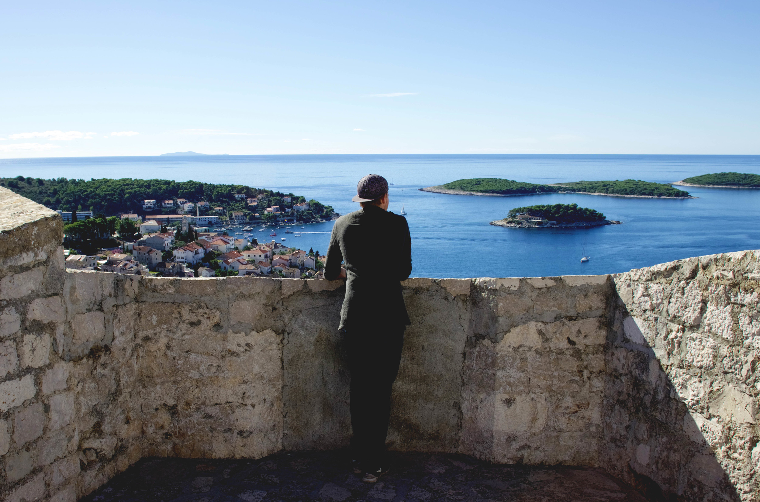 View from the Fortress, Hvar