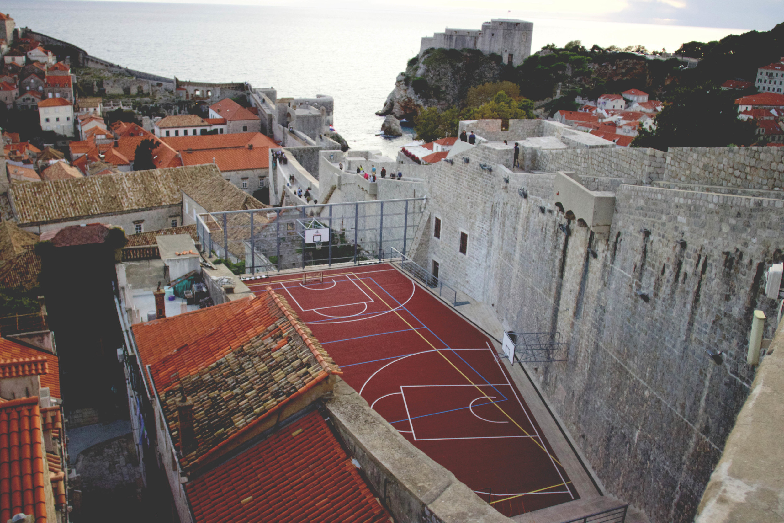 Coolest basketball court ever?